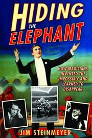 Cover art for HIDING THE ELEPHANT