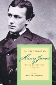 THE UNCOLLECTED HENRY JAMES by Floyd R. Horowitz