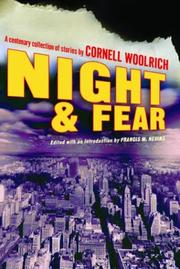 NIGHT AND FEAR by Cornell Woolrich