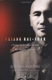 Cover art for CHIANG KAI-SHEK