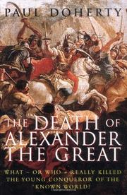 THE DEATH OF ALEXANDER THE GREAT by Paul Doherty