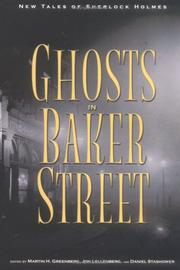 Cover art for THE GHOSTS OF BAKER STREET