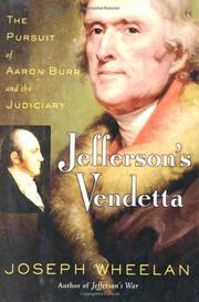 JEFFERSON'S VENDETTA by Joseph Wheelan