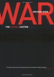 WAR by Gwynne Dyer
