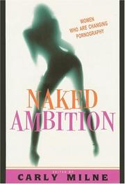 Cover art for NAKED AMBITION