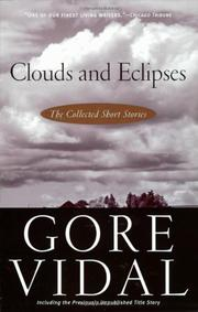 CLOUDS AND ECLIPSES by Gore Vidal