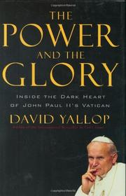 Cover art for THE POWER AND THE GLORY