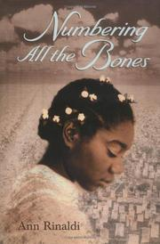 NUMBERING ALL THE BONES by Ann Rinaldi