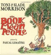 THE BOOK OF MEAN PEOPLE by Toni Morrison