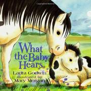 Book Cover for WHAT THE BABY HEARS
