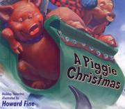 Cover art for A PIGGIE CHRISTMAS