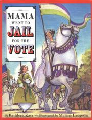 Cover art for MAMA WENT TO JAIL FOR THE VOTE