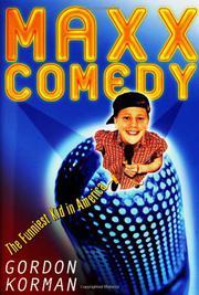 MAXX COMEDY by Gordon Korman