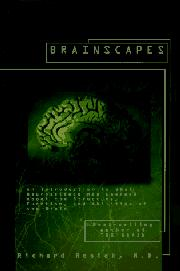 BRAINSCAPES by Richard M.D. Restak