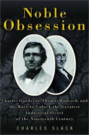 NOBLE OBSESSION by Charles Slack