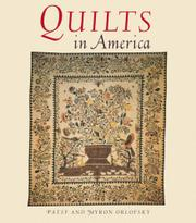 QUILTS IN AMERICA by Patsy & Myron Orlofsky