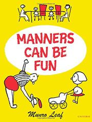 Cover art for MANNERS CAN BE FUN
