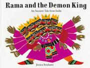 Cover art for RAMA AND THE DEMON KING