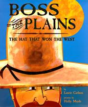 BOSS OF THE PLAINS by Laurie Carlson