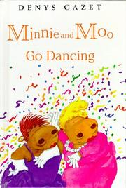 Cover art for MINNIE AND MOO GO DANCING
