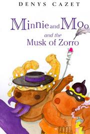 Cover art for MINNIE AND MOO AND THE MUSK OF ZORRO