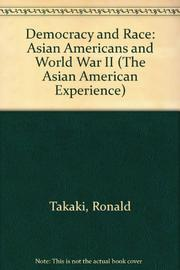 DEMOCRACY AND RACE by Ronald Takaki