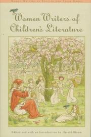 WOMEN WRITERS OF CHILDREN'S LITERATURE by Harold Bloom
