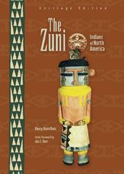 THE ZUNI by Nancy Bonvillain
