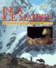 Book Cover for DISCOVERING THE INCA ICE MAIDEN