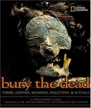 Cover art for BURY THE DEAD