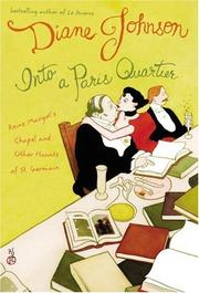 Cover art for INTO A PARIS QUARTIER