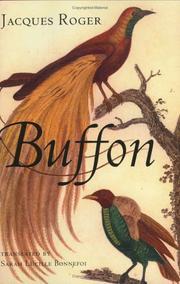 BUFFON by Jacques Roger