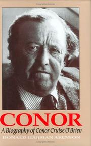CONOR by Donald Harman Akenson