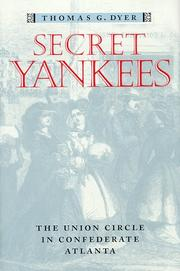 SECRET YANKEES by Thomas G. Dyer