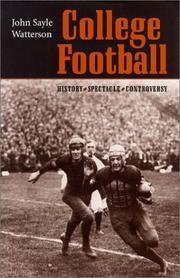 Book Cover for COLLEGE FOOTBALL