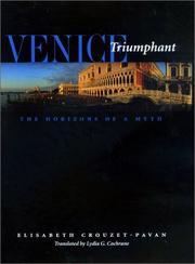 VENICE TRIUMPHANT by Elisabeth Crouzet-Pavan