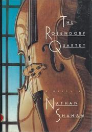 THE ROSENDORF QUARTET by Nathan Shaham