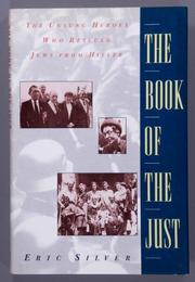 THE BOOK OF THE JUST by Eric Silver
