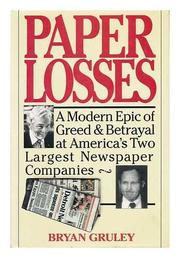 Book Cover for PAPER LOSSES