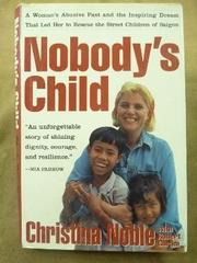 Book Cover for NOBODY'S CHILD