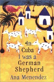 Cover art for IN CUBA I WAS A GERMAN SHEPHERD