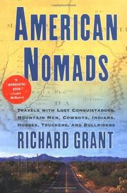 Cover art for AMERICAN NOMADS