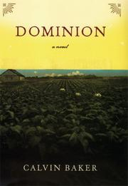 DOMINION by Calvin Baker