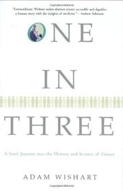 Cover art for ONE IN THREE