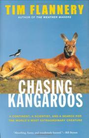 CHASING KANGAROOS by Tim Flannery