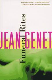 FUNERAL RITES by Jean Genet