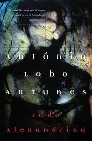 FADO ALEXANDRINO by António Lobo Antunes