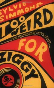Book Cover for TOO WEIRD FOR ZIGGY