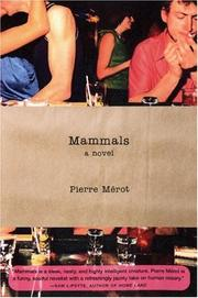 MAMMALS by Pierre Mérot