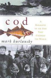 COD by Mark Kurlansky